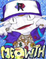 Gangsta Meowth by TheDarkAngel13