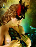 Butterfly Woman by AngeliaArt