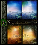 Premade backgrounds Pack-XIX
