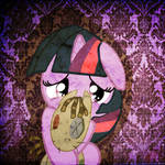 Scared filly twilight