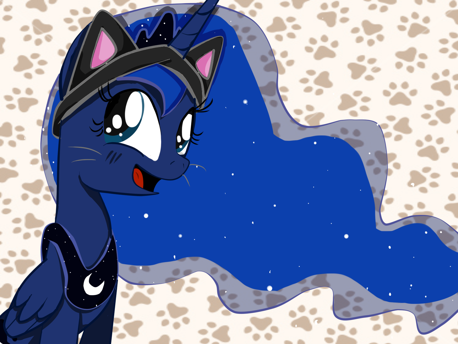 KITTY LUNA! by strabArybrick