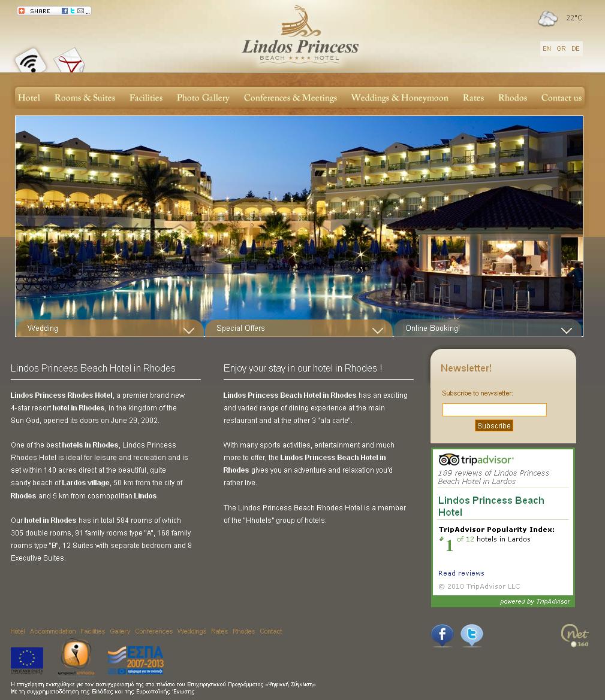Lindos Princess Beach Hotel Reviews