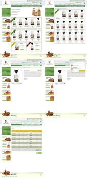 e-kalorizika e-shop website