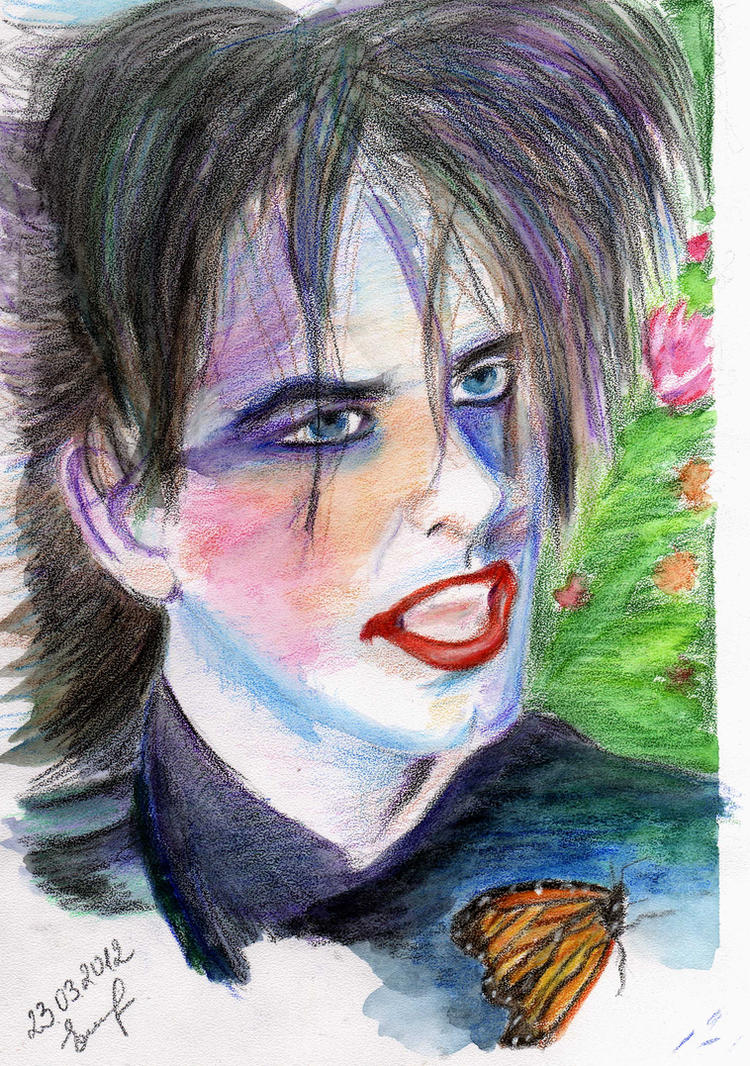 Robert Smith ( The Cure) by ghostexist