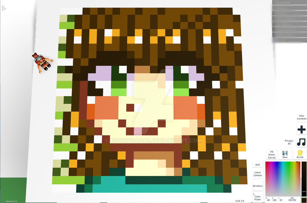 Girl Cute Girl Roblox Avatar Pictures Roblox Cute Girl Test By Bunnynana1 On Deviantart