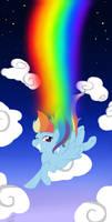 Falling Rainbows by Kudalyn