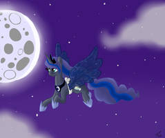 Princess Moon - contest entry by Kudalyn