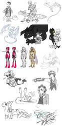 somewhat recent sketchdump