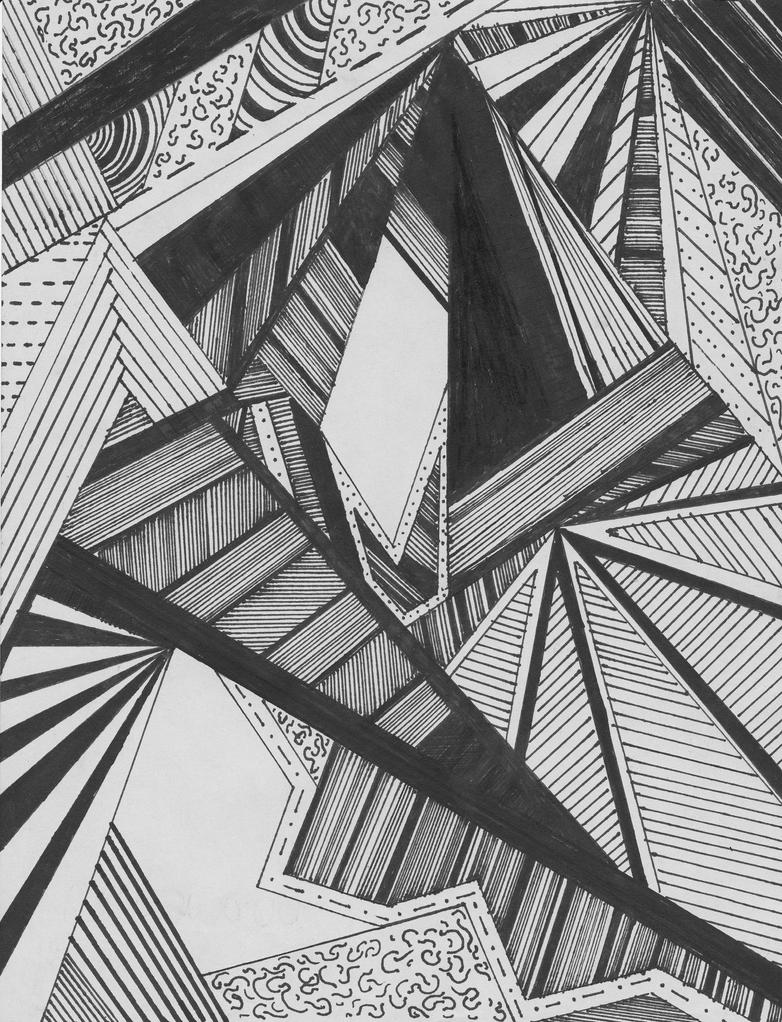 Line Drawings From D Models : Abstract lines by phrose on deviantart