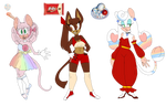 ADOPTS ||Candy THEMED||  CLOSED by RosettaLindsey