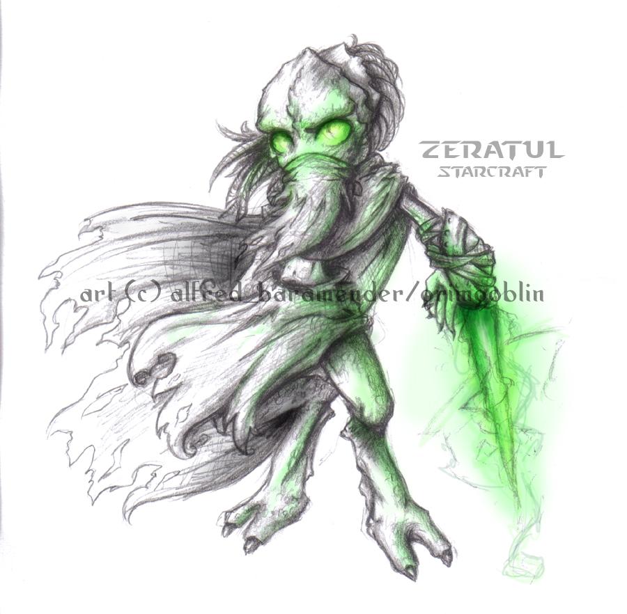 Chibi Zeratul by GrimGoblin