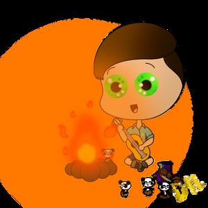 Around the Campfire (everyoneLOVESchibi's Contest)