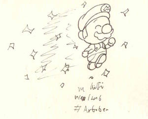 Artober 2017 #1 - Swift (Star Mario)