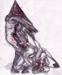 097 - Pyramid Head and Lying Figures 2