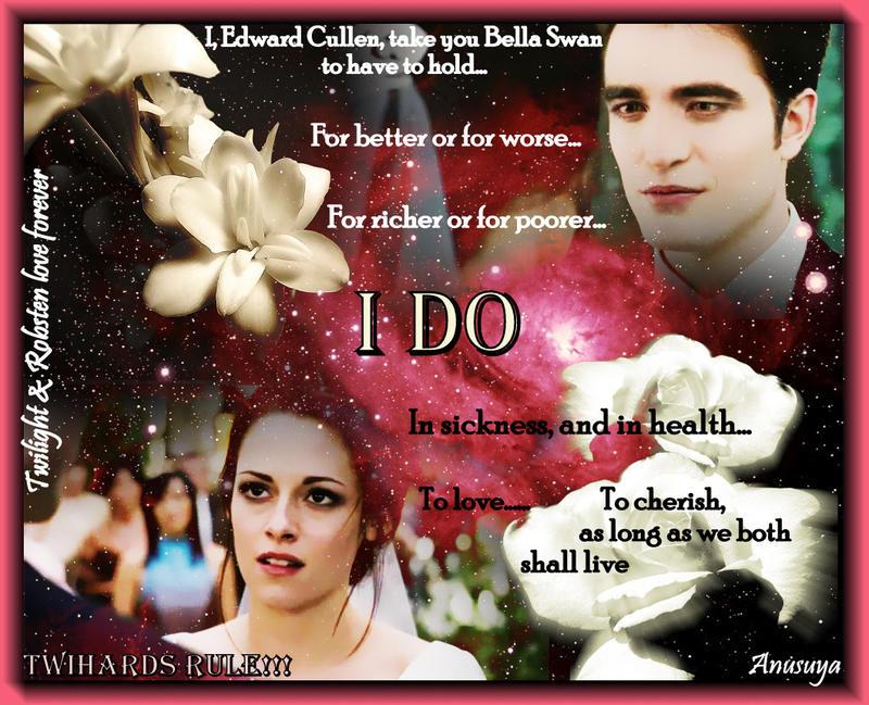 Edward-Bella Wedding Vows by Am-o-uR on DeviantArt