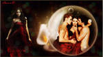 The Vampire Diaries Fan Art Wallpaper
