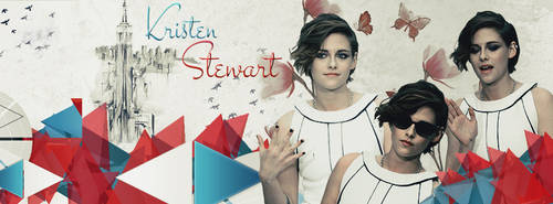 KRISTEN STEWART FACEBOOK COVER by Am-o-uR