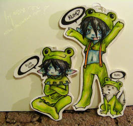 frogged pendants by noCka