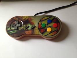 Super Metroid Snes controller by Hananas-nl