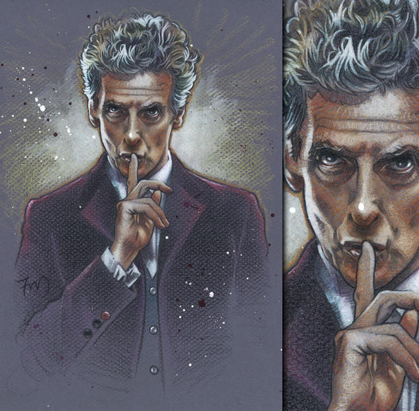 Twelfth Doctor - Peter Capaldi, Doctor Who by ...