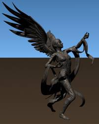 Adama's little Angel by zeustoves