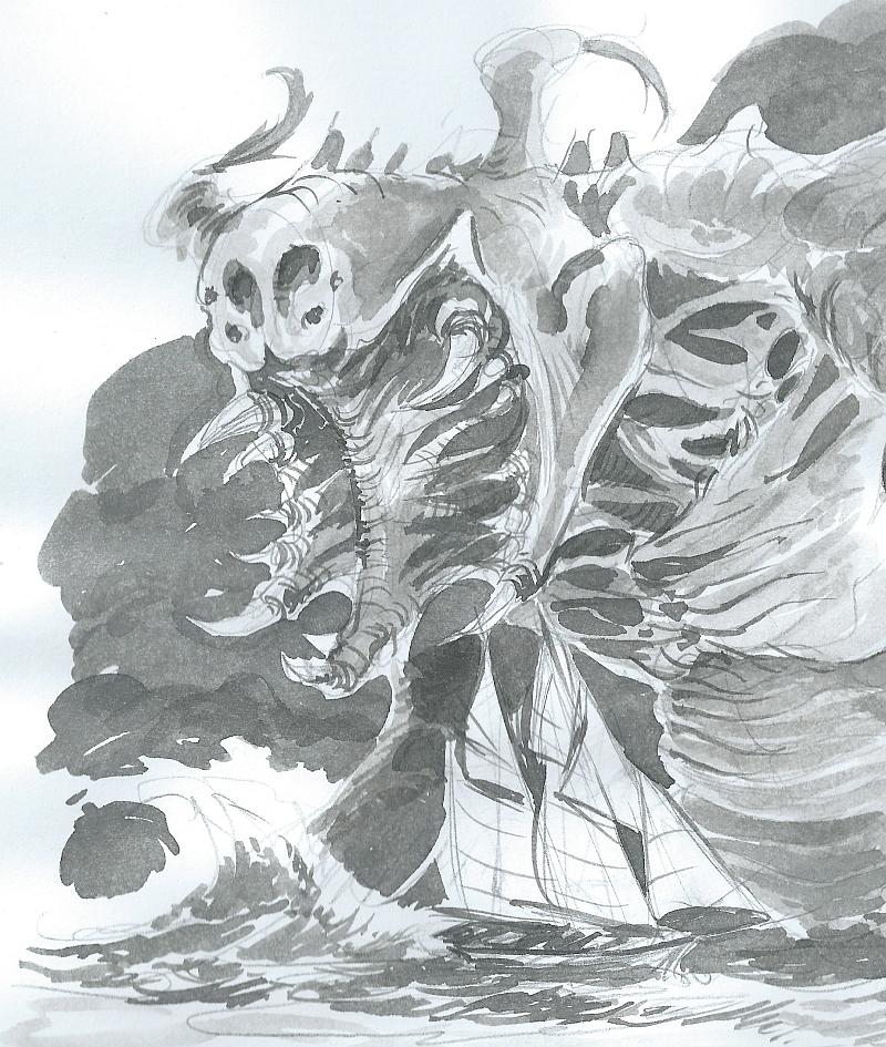 Kaiju Schooner by zeustoves