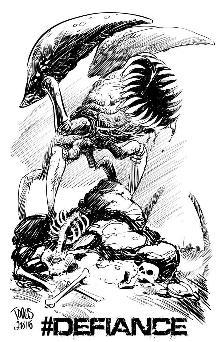 Defiance Hellbug by zeustoves