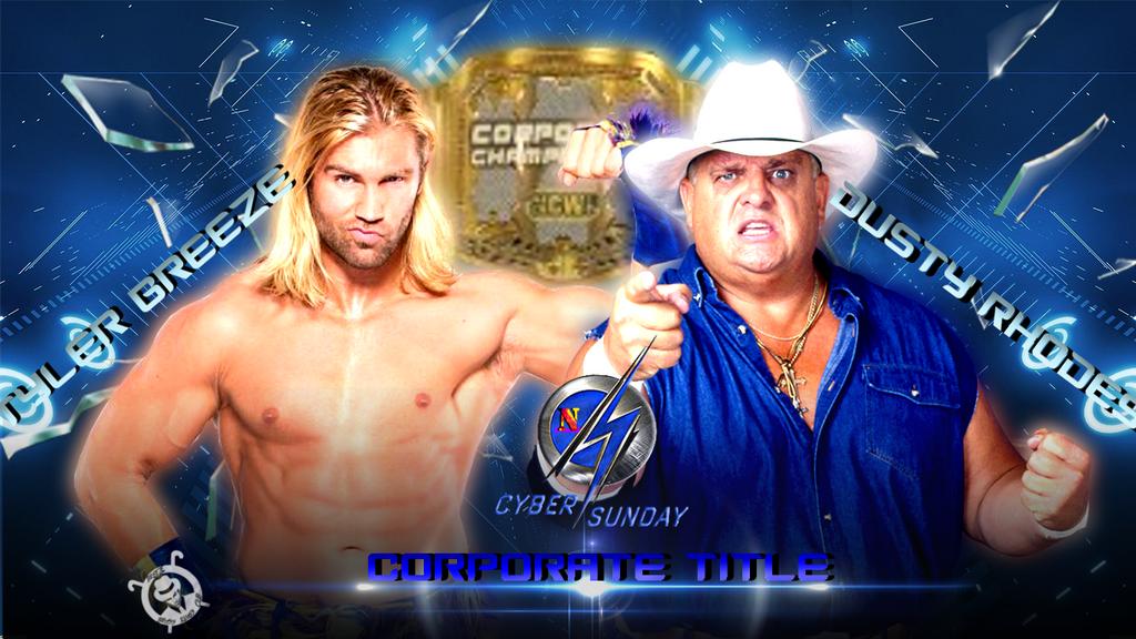 Tyler Breeze vs Dusty Rhodes (NCWF Cyber Sunday) by AlphaWWE