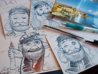 Cartes postales de Crete by Dimkas