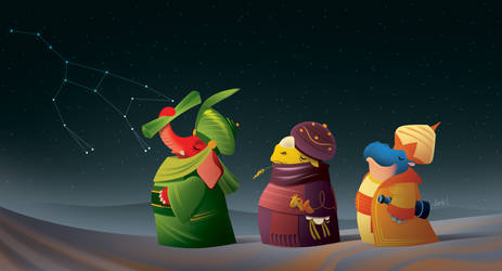 We Three Kings of Pachyderms Are by Dimkas