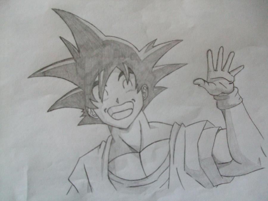 Goku by Shareeza-Ree