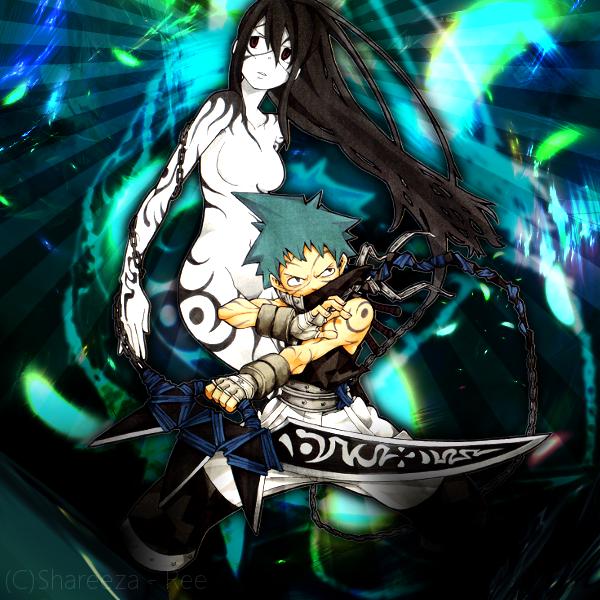 Black Star and Tsubaki by Shareeza-Ree