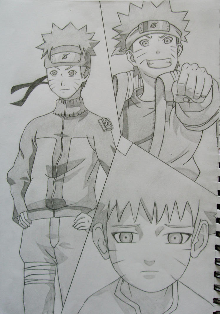 Naruto Uzumaki by Shareeza-Ree