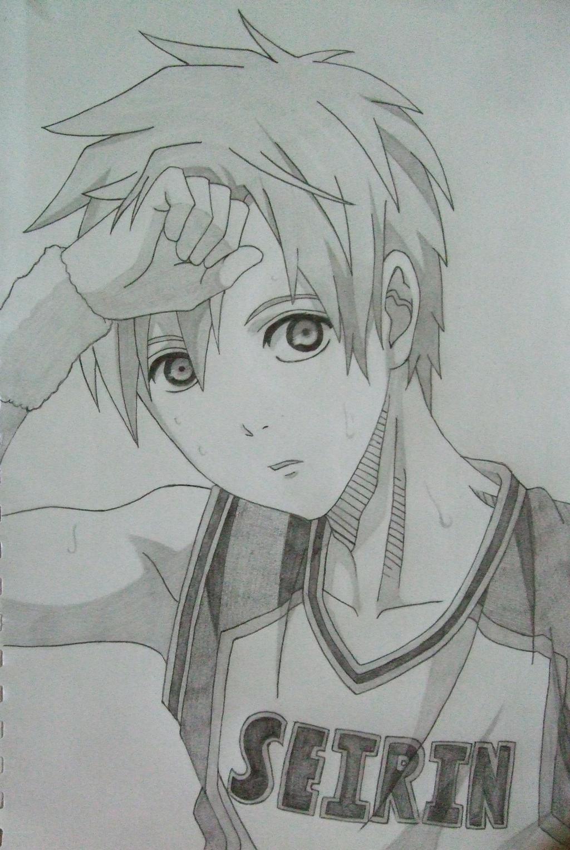 Tetsuya Kuroko by Shareeza-Ree
