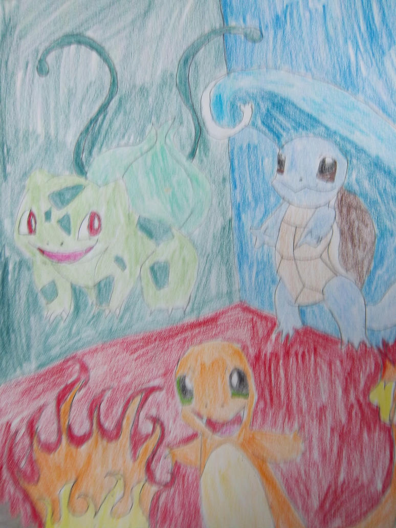 The original starters by BlueMoonScorpio