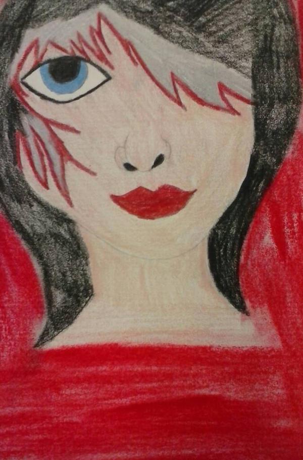 Gothic vampire chick by BlueMoonScorpio