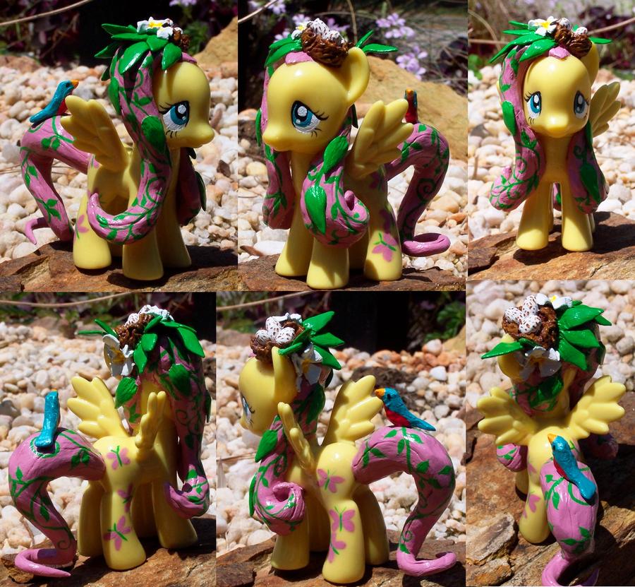 Fluttershy Custom Pony Mod by YFish