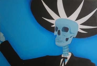 Mariachi de la Muerte by LaliMarin79