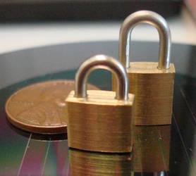 miniature padlocks