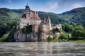 Castle by the danube