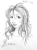 Portrait 2: Allison by IndigoFlamingo