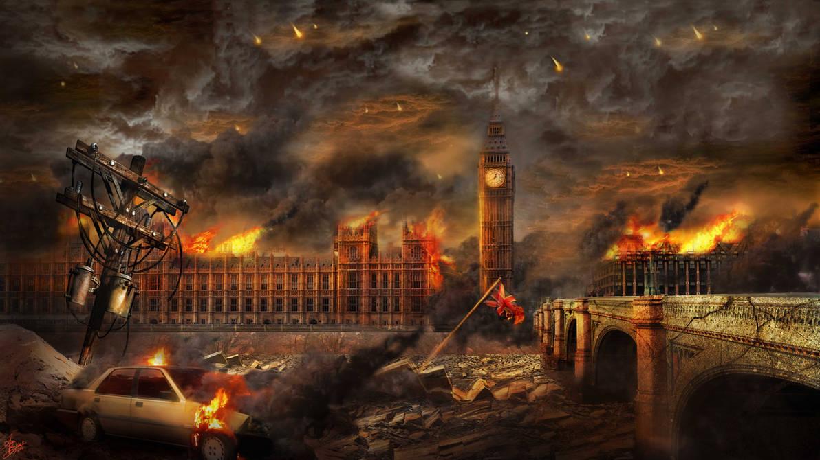 London in Ruin by IndigoFlamingo