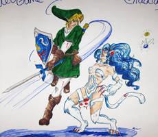 Nintendo VS Capcom by IndigoFlamingo
