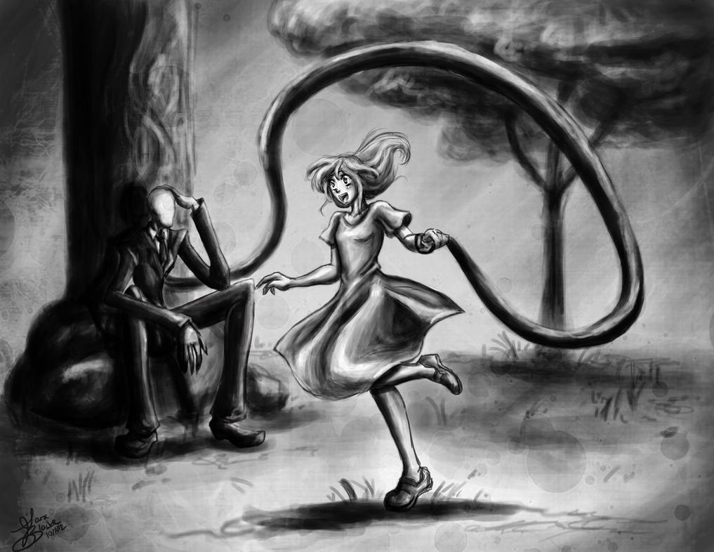 An Old Childish Memory by IndigoFlamingo