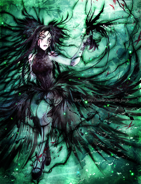 Black witch by Bory-Einfrost on DeviantArt