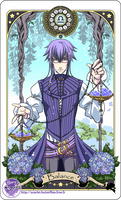 Astrology deck card: Libra
