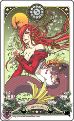 Astrology deck card: Capricorn by Bory-Einfrost