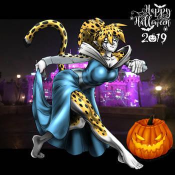 Britanny's Happy Halloween 2019 by DemitriVladMaximov