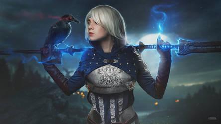 Dragon Age cosplay / 4k / speed art by maxasabin