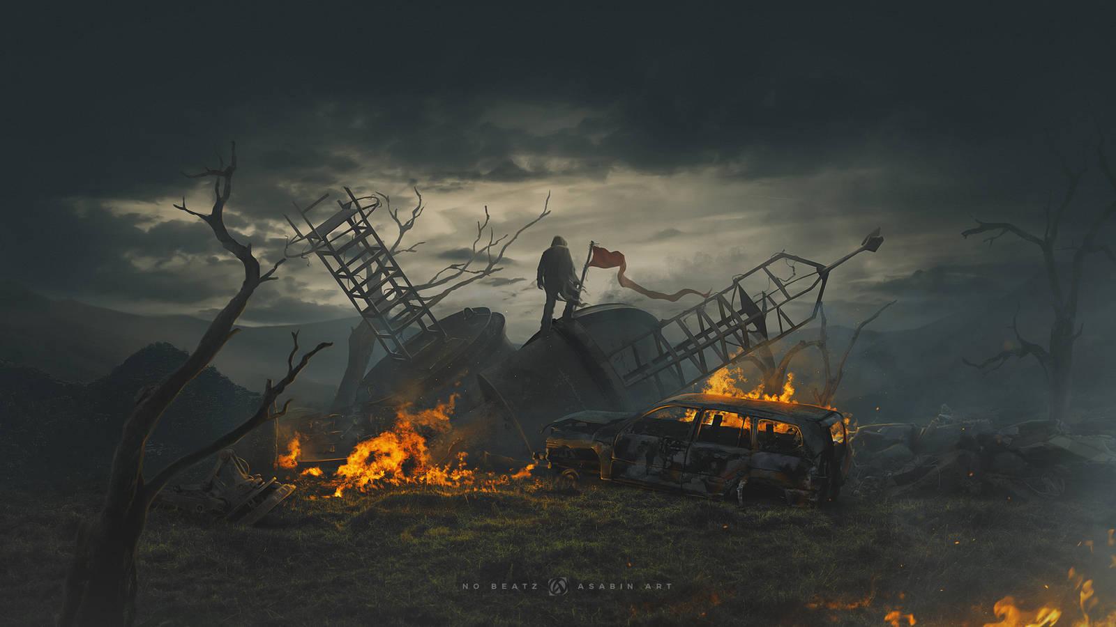 The last frontier / 4k / Speed art video by maxasabin